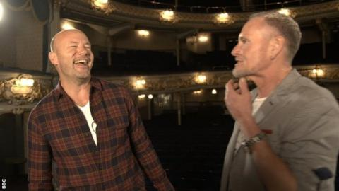 Alan Shearer and Paul Gascoigne