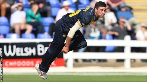 Ruaidhri Smith has represented Scotland in two ODIs and two IT20s