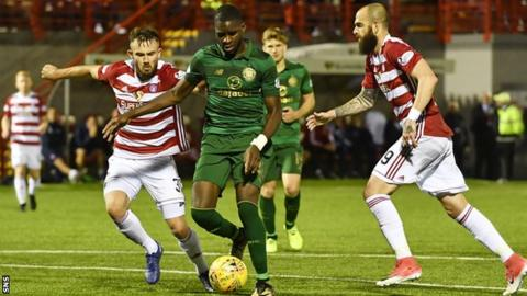 Odsonne Edouard scores on his debut