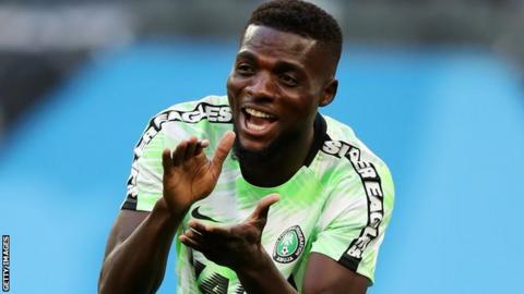 Nigeria's John Ogu
