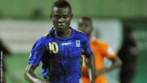 Tanzania striker Mbwana Samatta
