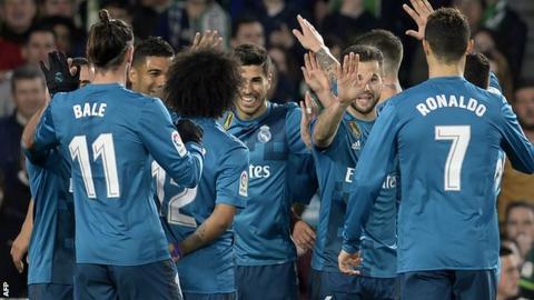 Marco Asensio, Cristiano Ronaldo, Gareth Bale