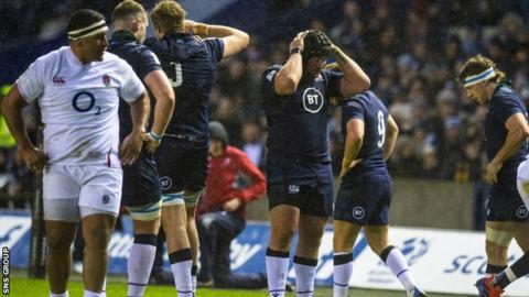 Once again, Scotland had chances but could not convert pressure into tries at a sodden Murrayfield