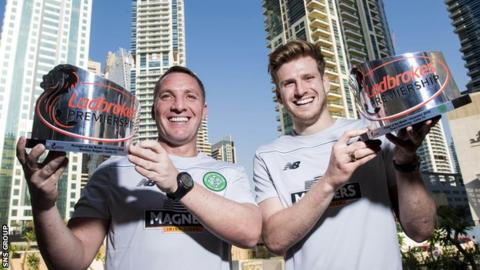 Brendan Rodgers and Stuart Armstrong