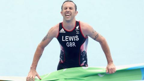 Andrew Lewis of Great Britain