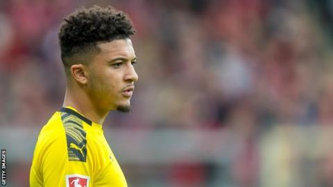 Jadon Sancho: Forward left out of Dortmund squad for disciplinary reasons