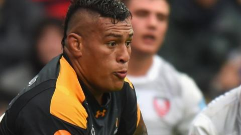 Wasps' Fiji-born back-row forward Nathan Hughes has won 17 England caps