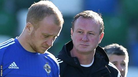 Liam Boyce did not make Michael O'Neill's 23-man squad for Euro 2016