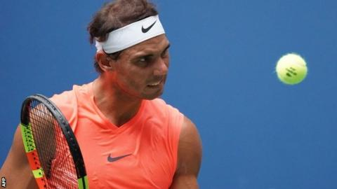 Rafael Nadal reacts to marathon match win with pure class