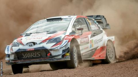 Kris Meeke and Seb Marshall at Rally Turkey
