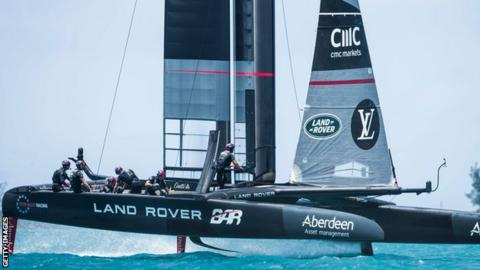 Sir Ben Ainslie's Britain team