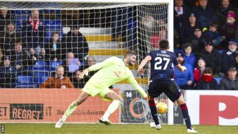 Ross Stewart in action