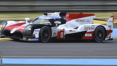 Alonso No 8 vehicle takes Le Mans pole