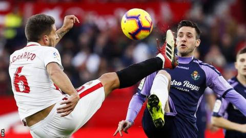 Sevilla v Real Valladolid