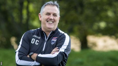 Ross County manager Owen Coyle