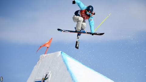 Olympics - Freestyle skiing: Braaten strikes early to capture slopestyle gold