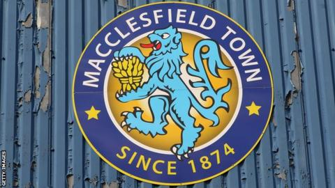 Macclesfield are currently 22nd in League Two and five points off the relegation places