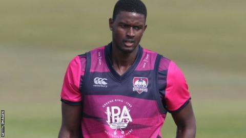 Jason Holder has joined Northants for their first two Championship and opening six One-Day Cup games
