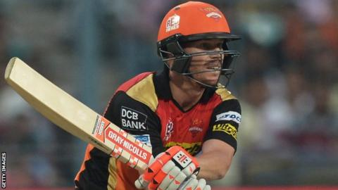 Disgraced Australia star David Warner blazes 85 on IPL return