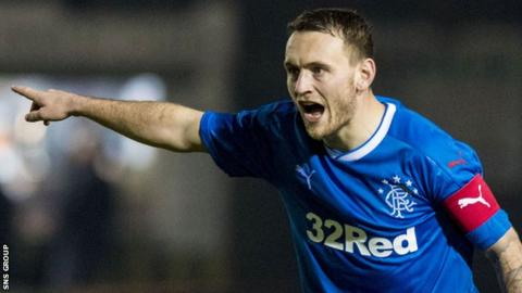 Lee Hodson has a year of his Rangers contract to run