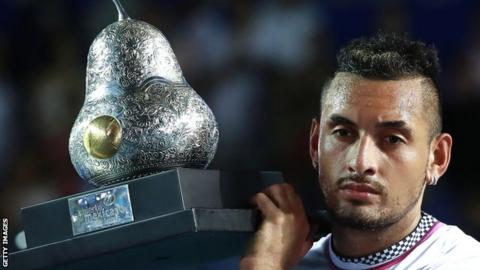 Nick Kyrgios was talking to Ben Rothenberg on the 'No Challenges Remaining' podcast