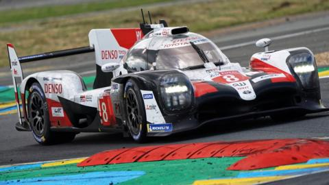 Toyota in the Le Mans 24 Hourse