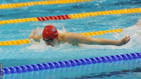 Ollie Hynd is aiming to break the world record at next year's Paralympics