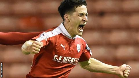 George Williams wins it late for Barnsley against Peterborough
