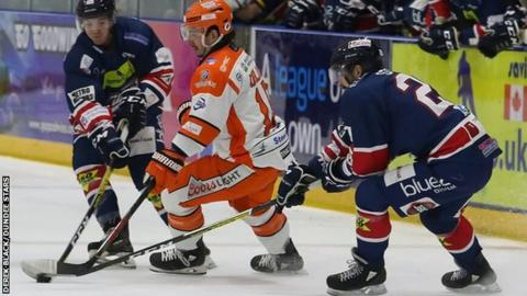 Dundee Stars against Sheffield Steelers