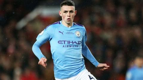 in_pictures Manchester City's Phil Foden