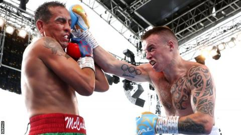 Steven Donnelly beat Kevin MCCauley on his professional debut at Windsor Park on 18 August