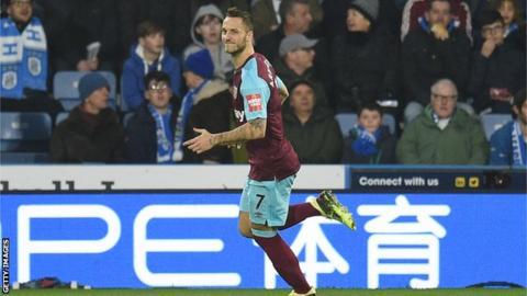 West Ham goalscorer Marko Arnautovic