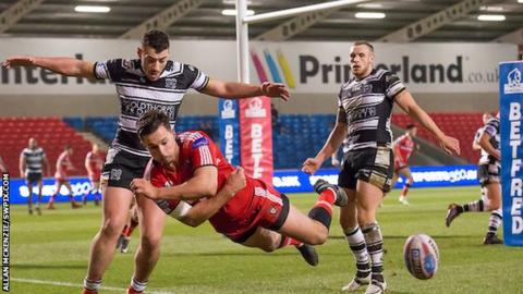 Jack Littlejohn was one of four Salford players on the scoresheet against Hull FC