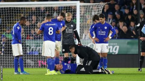 "Jamie Vardy: Brendan Rodgers hopeful injury ""not too serious"""