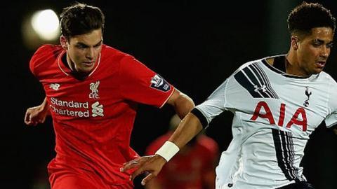 Sam Hart was part of Liverpool's first-team squad for their 4-0 pre-season friendly defeat by Jurgen Klopp's former club FSV Mainz