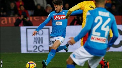 Napoli captain Hamsik surprised by Benvento