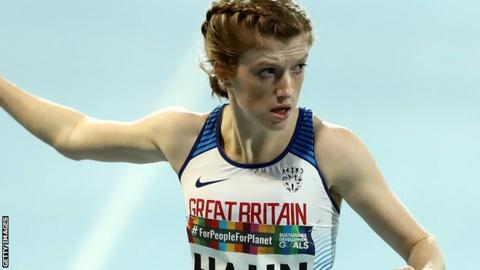 Britain's Sophie Hahn at the World Para-Athletics Championships