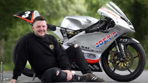 Gary Dunlop will ride the RC45 Honda his late father Joey rode in 1999