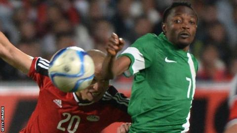 Nigeria will look to Ahmed Musa (right) to inspire them to victory