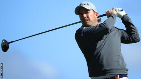 Richie Ramsay in the final round at the British Masters