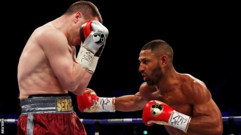 Kell Brook Marks Comeback With Thundering Uppercut KO