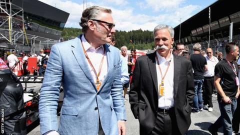 Sean Bratches and chase carey