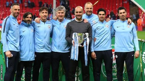 Manchester City coaching staff