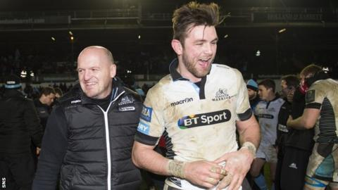 Gregor Townsend and Ryan Wilson