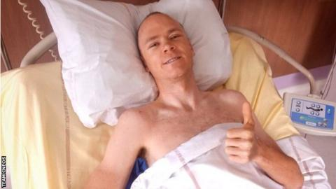 Chris Froome 'fully focused' on return after high-speed crash