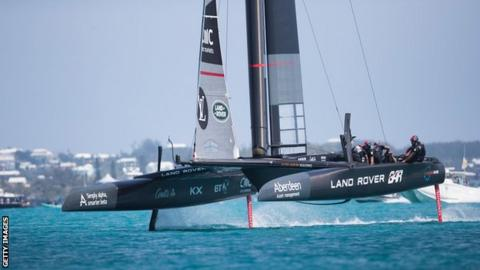 Great Britain America's Cup team