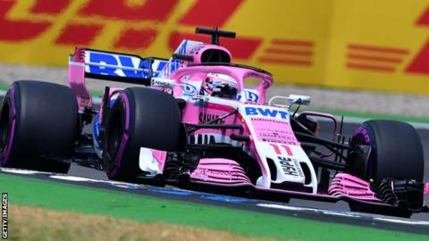 Sergio Perez for Force India