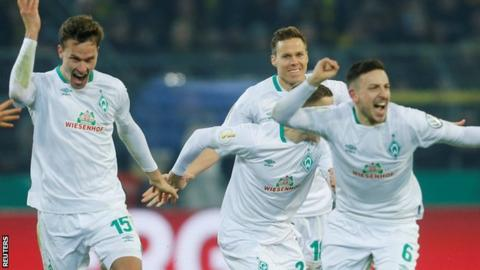 Borussia Dortmund vs. Werder Bremen - Football Match Report