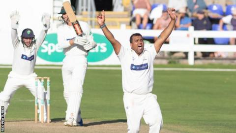 Glamorgan signed spinner Samit Patel on loan from Nottinghamshire in August