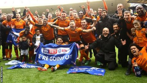 Wolves promoted